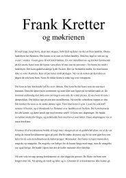 Frank Kretter - Den kulturelle skolesekken Hordaland