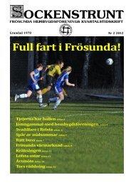 2012 nummer 2 - Frösunda hembygdsförening