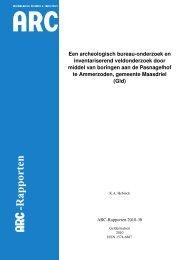 Bijlage 3 Archeologisch bureauonderzoek, inventariserend ...