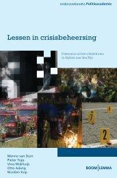 Lessen in crisisbeheersing.indd - Nederlands Genootschap van ...