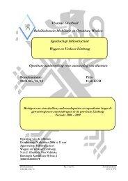 Vlaamse Overheid Beleidsdomein Mobiliteit en Openbare Werken ...