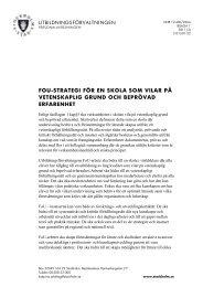 15 Bilaga 1 FoU-strategi.pdf - Pedagog Stockholm