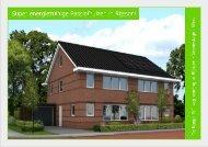 Bouwbeschrijving 2/1 kap woonhuis Veeneslagen West
