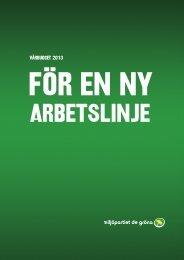 vårbudget 2013 - Miljöpartiet de gröna