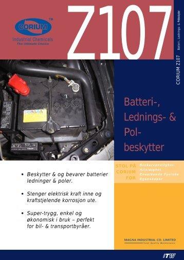Batteri-, Lednings- & Pol- beskytter - abema