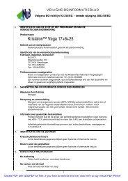 Kristalon™ Vega 17+6+25 - Horticoop
