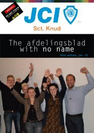 The afdelingsblad with no name - JCI Herning