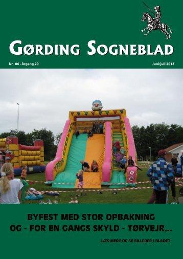 Nr. 06 -2013 Årgang 2013 - Gørding.dk