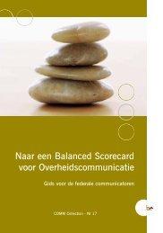 Naar een Balanced Scorecard voor ... - Fedweb - Belgium