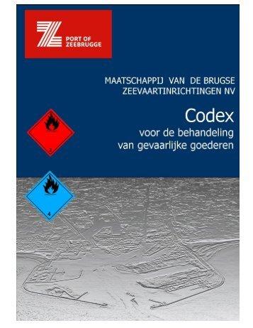 Codex voor de behandeling van gevaarlijke goederen - APZI