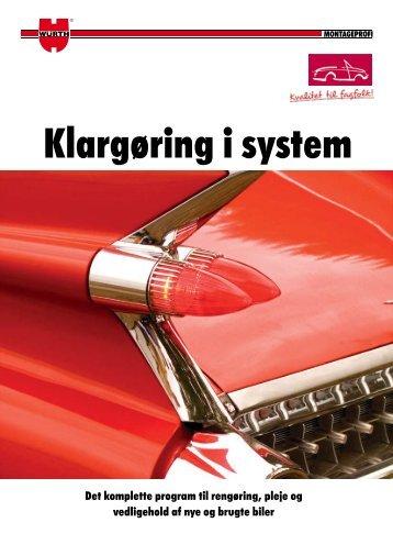 Klargøring i system - Würth Danmark A/S