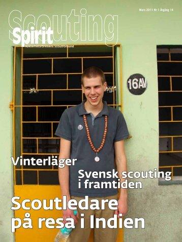 Scouting Spirit nr 1 2011 - Nykterhetsrörelsens Scoutförbund