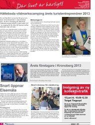 Snart öppnar Elsemåla - Tingsryds kommun