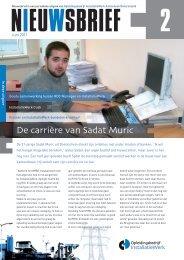 De carrière van Sadat Muric - Installatiewerk Nederland