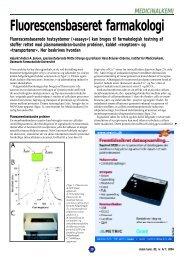 Fluorescensbaseret farmakologi - Siden kan ikke findes