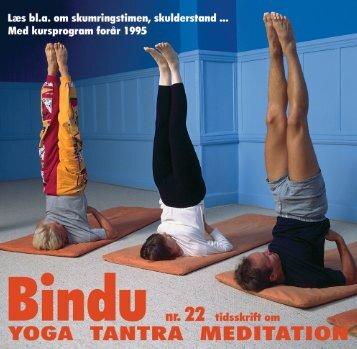 Bindu 22 - Dansk.indd - Skandinavisk yoga og meditasjonsskole