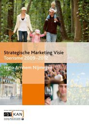 Strategische Marketing Visie Toerisme 2009–2012 - RBT Kan