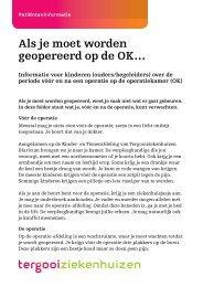 Als je moet worden geopereerd op de OK… [83kb] - Tergooi