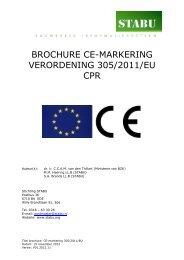brochure ce-markering verordening 305/2011/eu cpr - Stabu