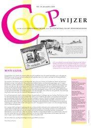 CoopWijzer december 2008 - Co-op Pensioenfonds
