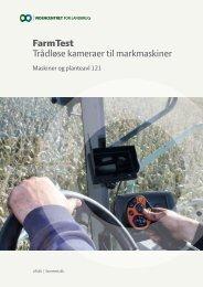FarmTest Trådløse kameraer til markmaskiner - Alulette