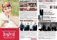 BJC våren -13 A4 - Bollnäs Jazz Club