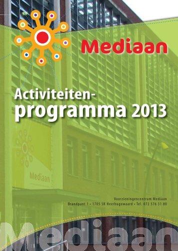 Activiteitenprogramma Mediaan Heerhugowaard - Kern8