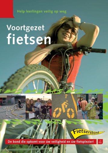 Brochure: 'Voortgezet fietsen' - Drechtsteden - Fietsersbond