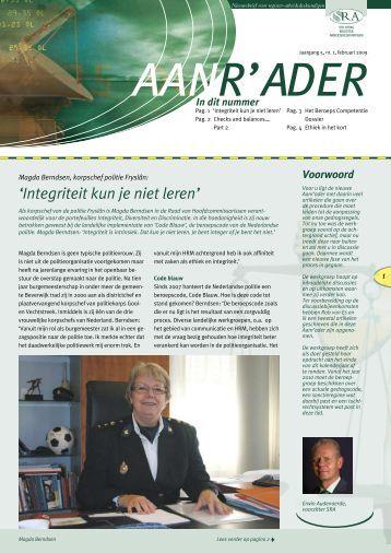 Aanrader februari 2009 - Stichting Register Arbeidsdeskundigen
