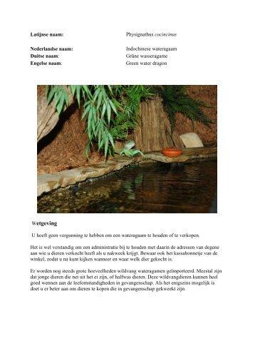 Wetgeving - The Blue Lagoon