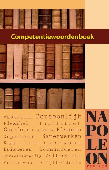 Assertief Persoonlijk Competentiewoordenboek - Competentiebeleid