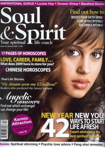 SOUL & SPIRIT magazine Extract from in-depth ... - Fiona Graham