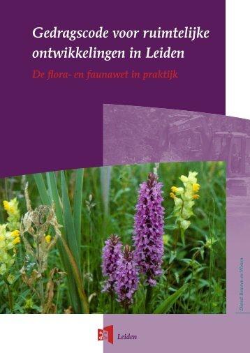Gedragscode voor ruimtelijke ontwikkelingen in Leiden