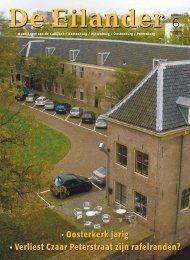 Oosterkerk jarig • Verliest Czaar Peterstraat zijn rafelranden? - WCOB