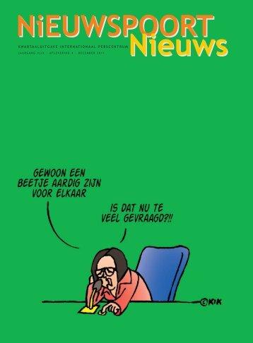 Np Nieuws nr 4 2011 - Nieuwspoort