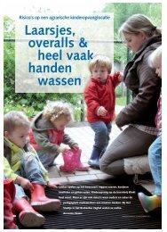 Artikel Kinderopvang - Kinderdagverblijf Het Snuitje