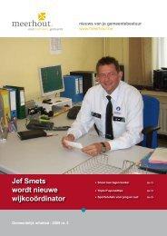 Jef Smets wordt nieuwe wijkcoördinator - Meerhout