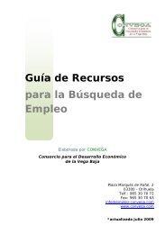 Guía de Recursos para la Búsqueda de Empleo - Convega