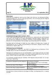 Svineinfo uge 37, 14. september 2012 - LandboNord