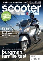 Scooterxpress Burgman special - Suzuki