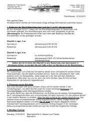 8. Elternbrief - Mittelschule Thannhausen