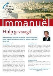 Immanuel 2-2006 - Stichting steun Messias belijdende Joden