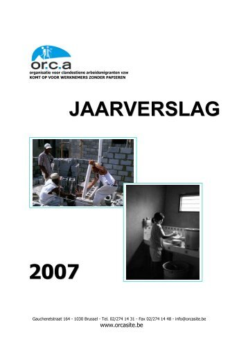 07 jaarverslag ORCA.pdf - orcasite.be