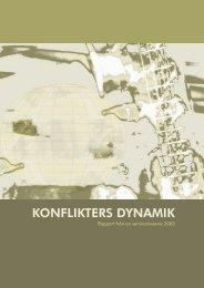 KONFLIKTERS DYNAMIK - Solidaritetshuset
