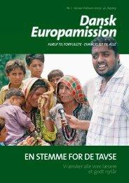 EN STEMME FOR DE TAVSE - Dansk Europamission