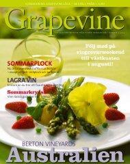SOMMARPLOCK berton Vineyards LAGRA VIN