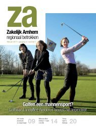 Golfen een mannensport? - Zakelijk Arnhem