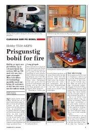 Prisgunstig bobil for fire - Norsk Caravan Club