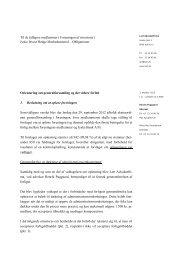 1. Beslutning om at opløse foreningen Som tidligere varslet blev der ...