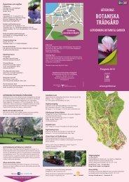 program 2013 - Göteborgs botaniska trädgård